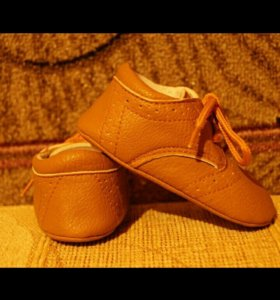 Первая обувь ботиночки