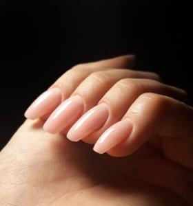 Наращивание ногтей, маникюр на дому.