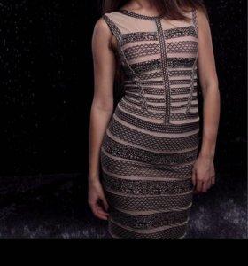Итальянское бандажное платье