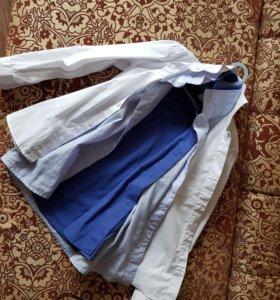 Рубашки мальч. б/у на 122-128рост