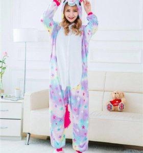 Кигуруми пижама «звездный единорог»