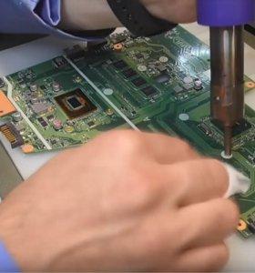 Ремонт ноутбуков, Ремонт компьютеров. Гарантия