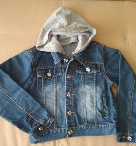 Джинсовы пиджак для мальчика
