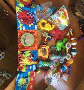 Игрушки-погремушки для малыша