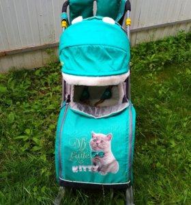 Санки-коляска Ника-детям 7-2