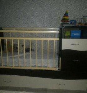 Детская кровать-трансформер Чунга-Чанга