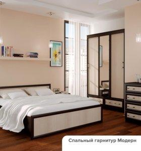 """Кровать """"Модерн"""" 1400*2000, венге/лоредо"""