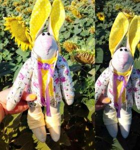 Кролик ручной работы