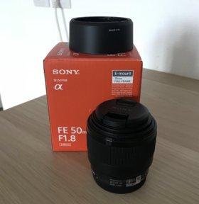 Sony SEL-50mm F1.8 F