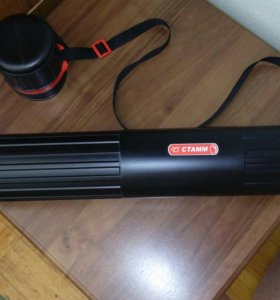 Тубус 8×64 прочный с регулируемой длиной ручки