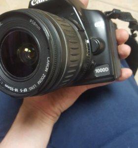 Фотоаппарат Canon DID 1000d
