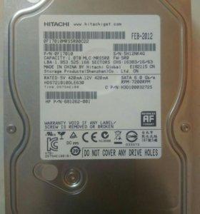 Жесткий диск 1тб Hitachi