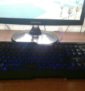Игровая клавиатура Dragon War Qumo