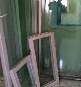 Окна со стеклопокетами.