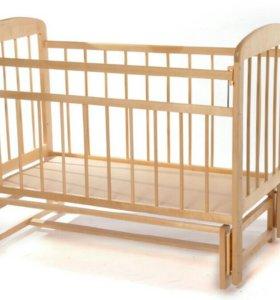 Детская кровать +матрас