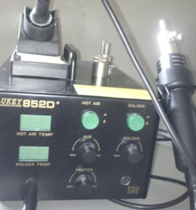 Паяльная станция Lukey 852D+