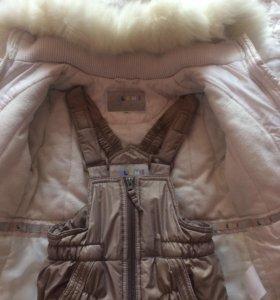 Детский зимний костюм куртка штаны