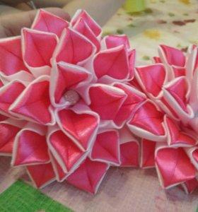 Резиночки канзаши