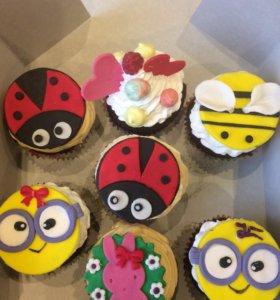 Детские пирожные на заказ