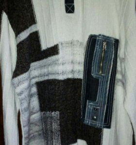 Свитор мужской+ рубашка)