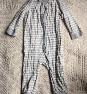 Пижама H&M, 74р
