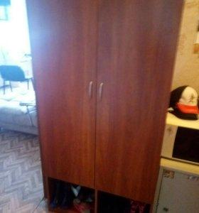 Шкаф для одежды с обувной тумбой