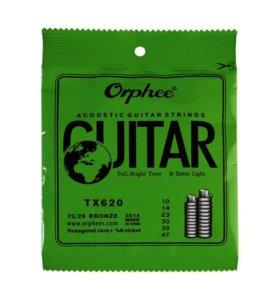 Струны для Акустической Гитары Orphee TX