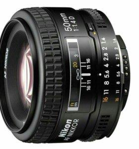 Nikon 50 mm f/1.4D AF Nikkor