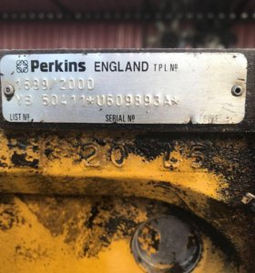 Запчасти б/у на 6-ти цилиндровый мотор PERKINS