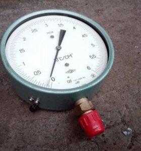 Манометр МТИ, 160 мм, 6 кгс/см2, 0,6%