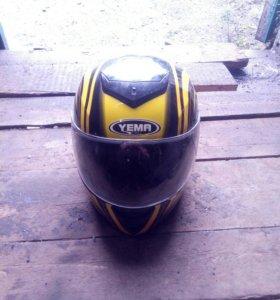 Мото шлем yema размер L