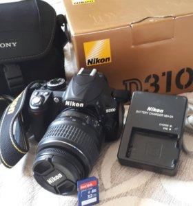 Фотоаппарат зеркальный Nikon 3100