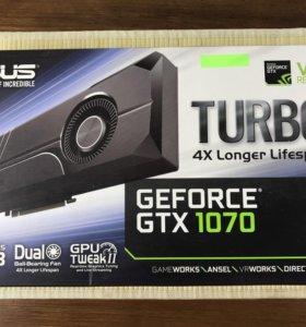 Видеокарта asus gtx1070 turbo 8 gb