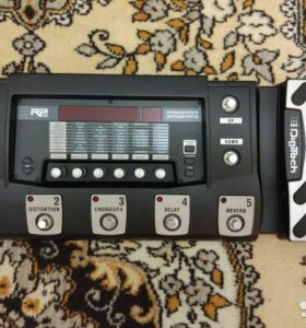 Гитарный процессор digitech RP500