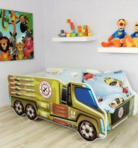 Кровать грузовик 9 моделей 140х70