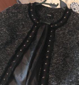 Пиджак твидовый женский