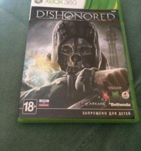 Игра Dishonored на xbox 360