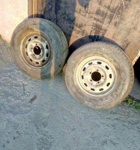 Два колеса на УАЗ
