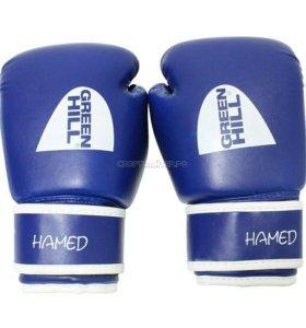 Детские перчатки Green Hill 6 oz - синие