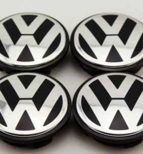 Колпаки для колес VW 56 мм 4 шт. Комплект