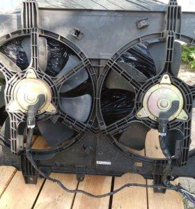 Вентилятор охлаждения двигателя усиленный qr25