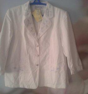 Пиджак белый, новый