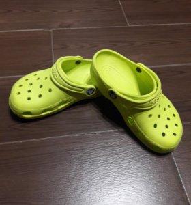 Детские шлёпанцы Crocs (оригинал)