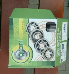 Комплект подшипников для коробки передач ваз 08-01