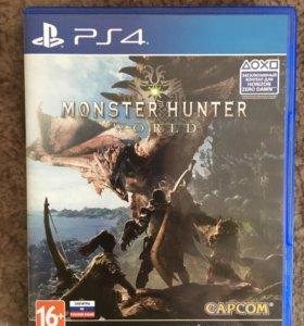 monster hunter world ps4  торг