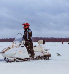 Снегоход тайга патруль 551 swt на водянке