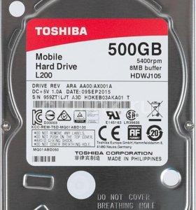 Продам Жесткий диск Toshiba на 500гб