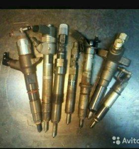 Проверка и ремонт электромагнитных форсунок