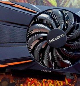 Видеокарта Gigabyte GTX 1050 Ti 4 Gb