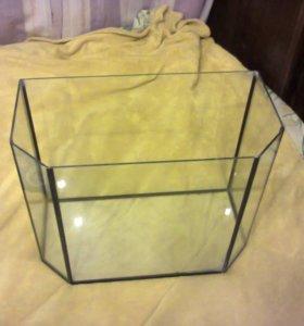 Аквариум шестиугольный 35 литров